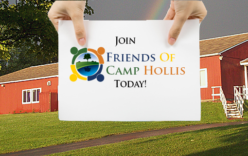 Become a member of Friends of Camp Hollis